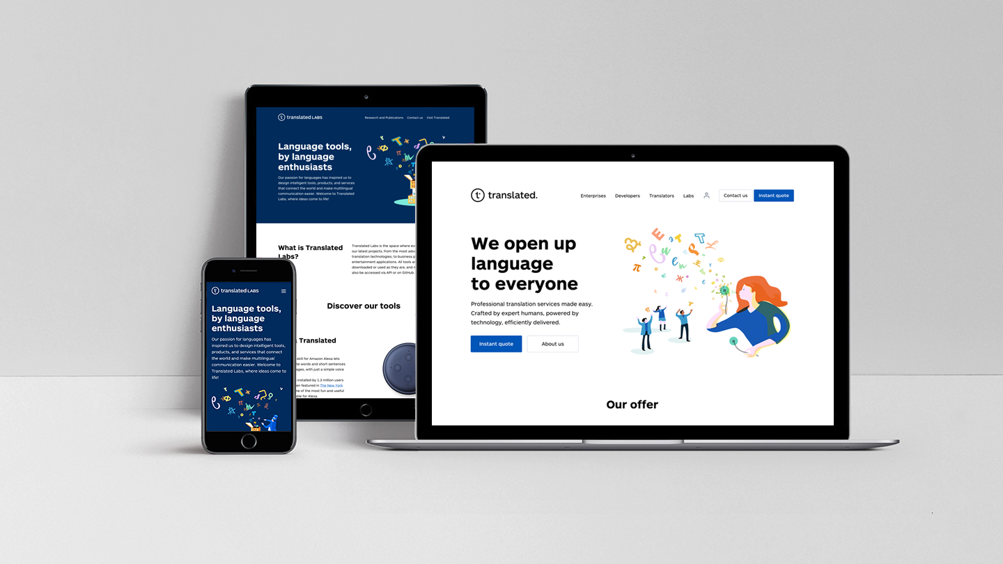 Transforming Language Services - Translated