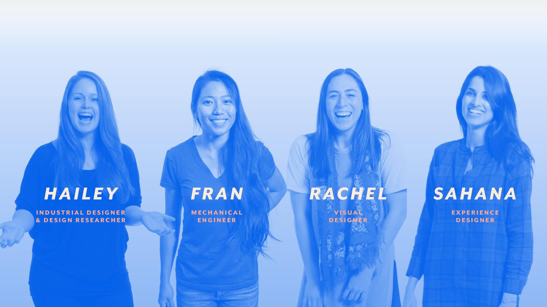 frog design team that designed yona, the transformative pelvic exam protoype