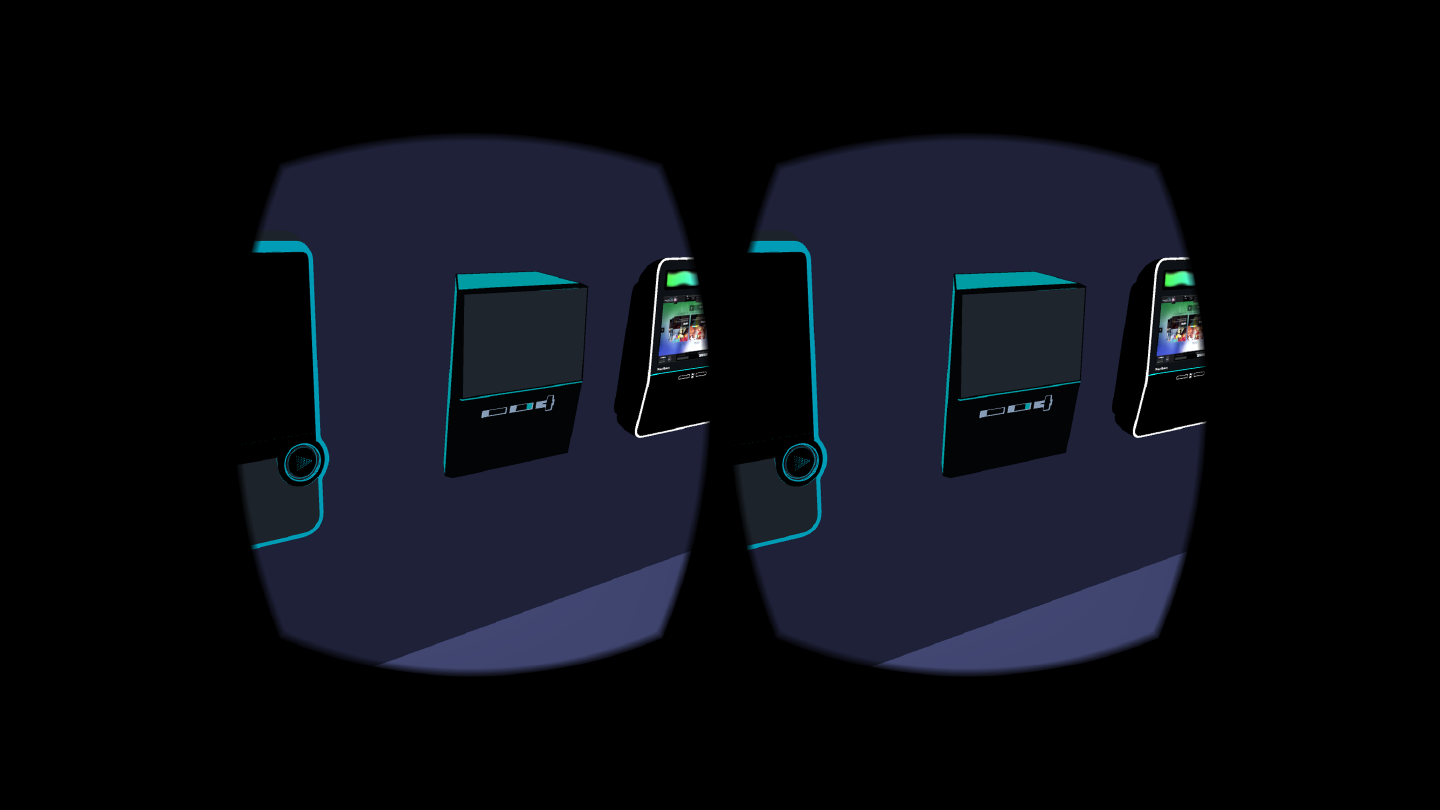New digital jukebox design in VR