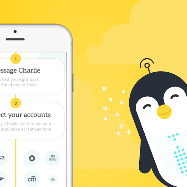 Charlie: AI-powered personal finance assistant with a friendly penguin persona