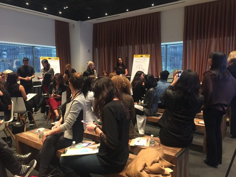 Teams share learnings from the Org Activations session