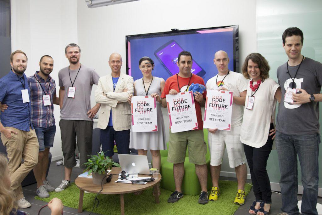 The jury awarded NinjaBoo as best team