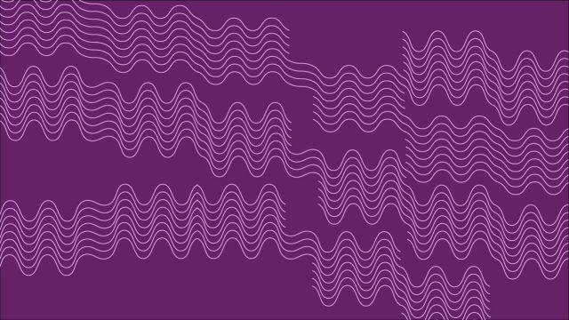 Squiggle purple