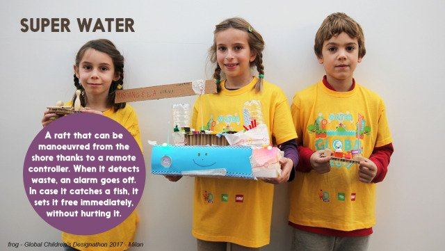 Show & Tell: Nurturing Imagination to Make a Difference-SUPER WATER