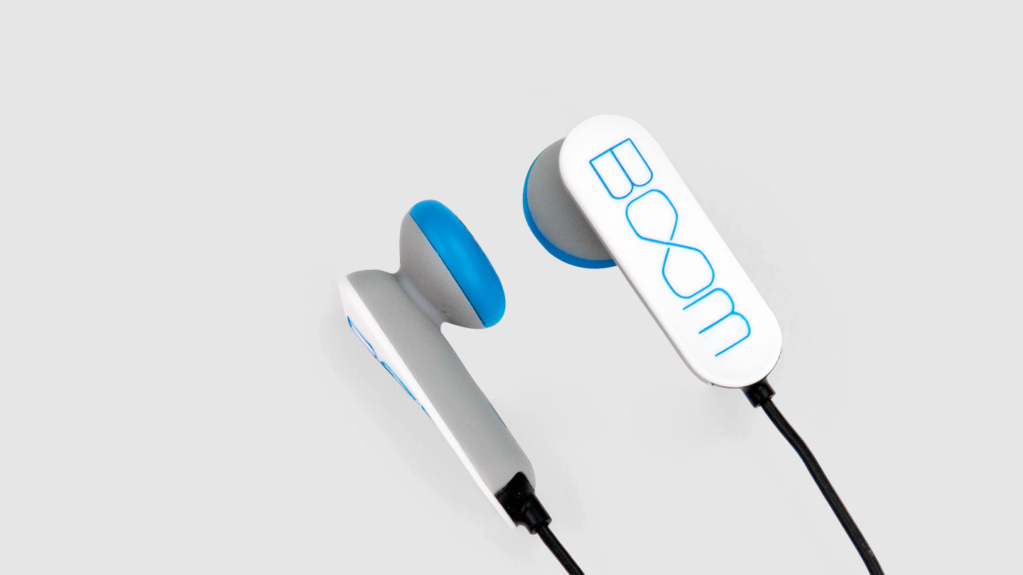 Sound United Boom earphones design