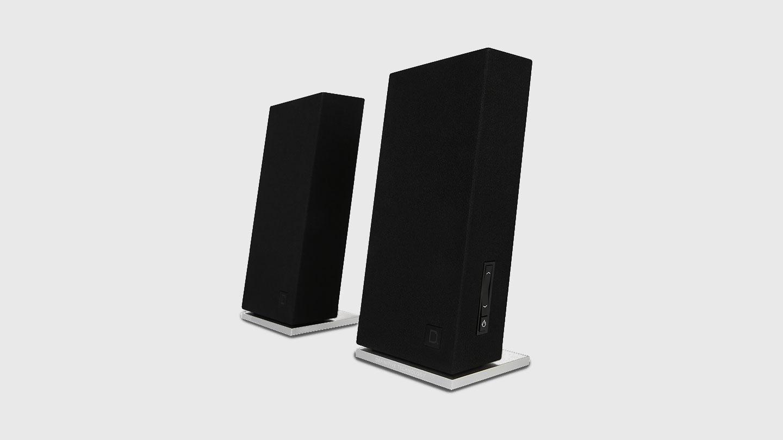 Definitive Technology Incline desktop audio speaker design