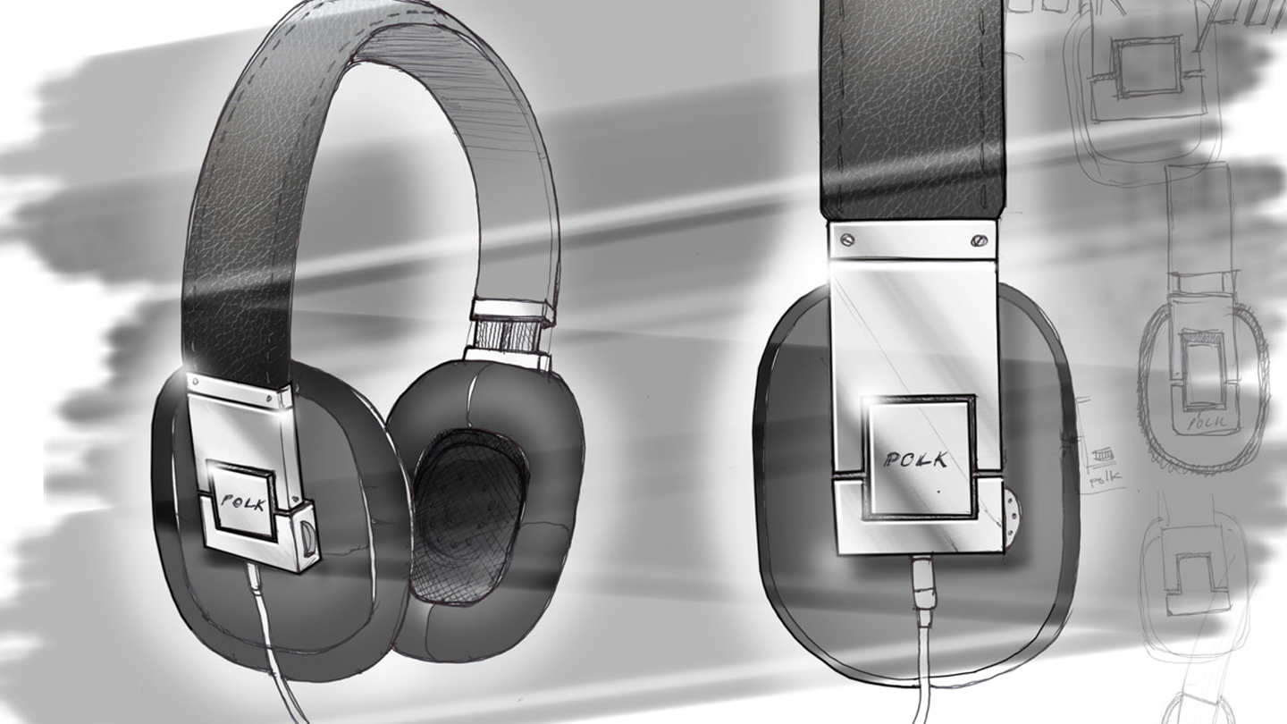 Polk Audio headphones design concept